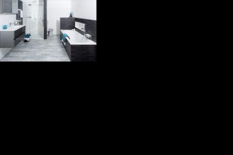 Stoere DesignLook badkamer bij Van Manen Badkamers - Woonkrant ...