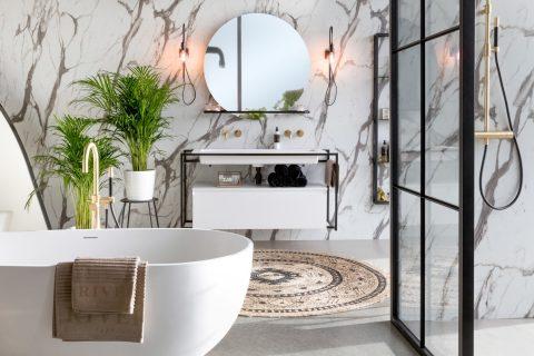 Zo creëer je een urban jungle badkamer! - Woonkrant- Barneveld